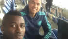 Photo: Ramires all smiles with new Chelsea signing