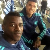 Ramires all smiles with Kenedy