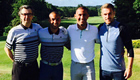 Arsenal duo enjoy golf day