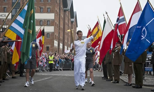 london 2012 olympic torch relay