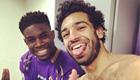 Photo: Micah Richards snaps selfie with Chelsea star Mohamed Salah