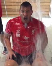 Video: Liverpool boss Brendan Rodgers completes ice bucket challenge