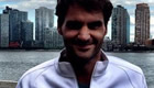 Federer all smiles in New York