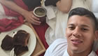 Photo: Marcos Rojo enjoys breakfast in bed ahead of Arsenal v Man Utd