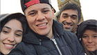 Rojo enjoys a trip to London