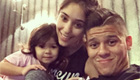 Photo: Rojo relaxes with family ahead of Chelsea clash