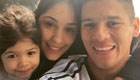 Photo: Man Utd defender poses for family selfie after Copa America win
