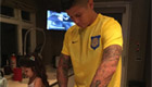 Photo: Man Utd star Marcos Rojo cooks family dinner ahead of Foxes clash