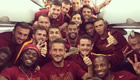 PHOTO: Cole and Gervinho pose in Roma snap
