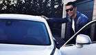 Ronaldo heads to training in Rolls-Royce