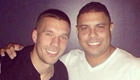 PHOTO: Podolski pays tribute to Ronaldo