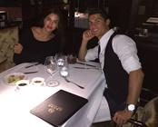 Photo: Cristiano Ronaldo takes Irina Shayk for dinner after Madrid hat-trick
