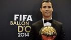 Beaming Ronaldo beats Messi to win his third Ballon d'Or