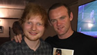 PHOTO: Rooney enjoys Ed Sheeran concert