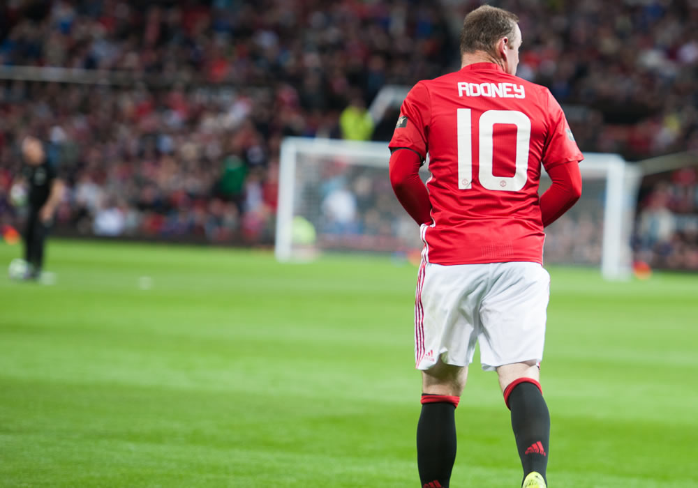 Manchester United legend Wayne Rooney