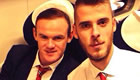 De Gea all smiles with Rooney after Arsenal win