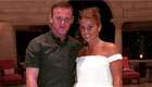 Rooney enjoys lovely dinner with wife