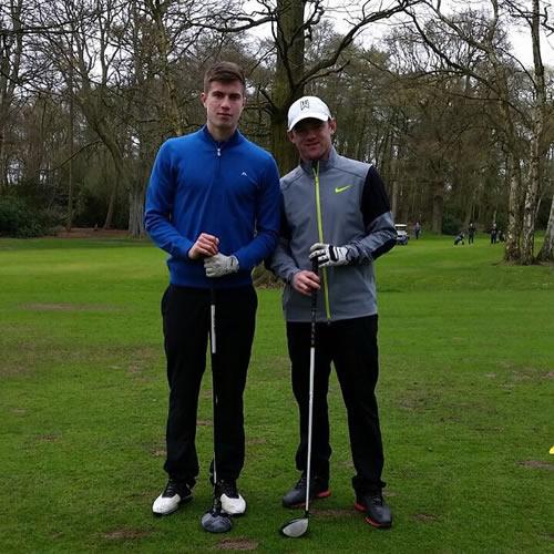 wayne rooney golf