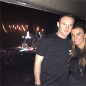 Rooney ends 'great day' with Richie gig