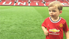 Rooney posts snap of son at Old Trafford