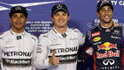 Bahrain Grand Prix 2014: Rosberg pips Hamilton to pole position