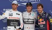 British Grand Prix 2014: Nico Rosberg takes pole position