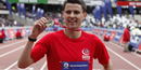 London 2012: Davies first man to cross Olympic Stadium finish line