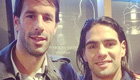 Falcao speaks of admiration for Man Utd legend