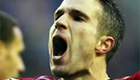 Van Persie out for one to two weeks with ankle injury