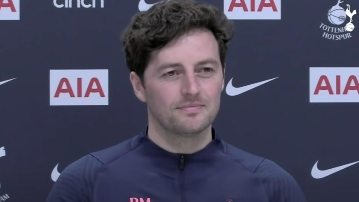 Spurs caretaker manager Ryan Mason (Photo: Spurs TV)