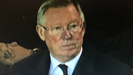 Photos: Sir Alex Ferguson reacts to Man Utd's 0-0 draw with Burnley