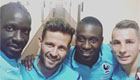 Sakho snaps selfie with reported Liverpool target