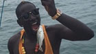 Sakho catches dinner in Senegal