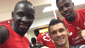 Photo: Dejan Lovren sends heartfelt Liverpool message to Mamadou Sakho