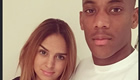 Martial poses with wife Samantha in wake of Man Utd loss
