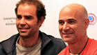 Sampras & Agassi reminisce on old rivalry: 'He was the best I ever played'