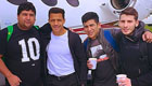 Photo: Arsenal's Alexis Sanchez poses in front of private jet