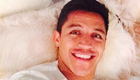 Sanchez posts smiling selfie