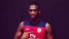 Yaya Sanogo pleased with 'nice gift' after Arsenal beat Anderlecht