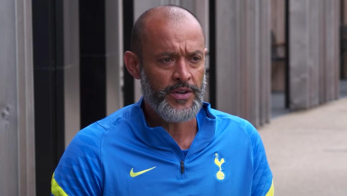 Tottenham manager Nuno Espirito Santo (Photo: Spurs TV)