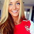 PICTURE: Sánchez's girlfriend poses in Arsenal shirt