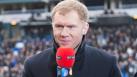 Paul Scholes predicts Liverpool FC v Man City in Champions League