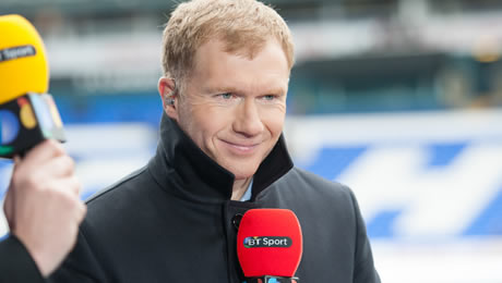 Paul Scholes reacts to Eden Hazard's display in Chelsea FC's 1-0 win over Man United