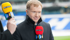 Paul Scholes's four-word response when asked if Chelsea will win the title
