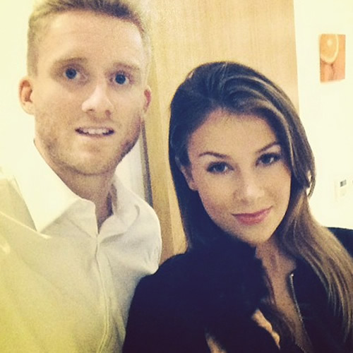 Andre Schurrle Girlfriend
