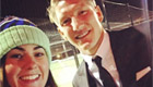 Photo: Bastian Schweinsteiger snaps selfie with Man Utd fan ahead of charity dinner