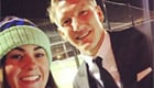 Schweinsteiger snaps selfie with Man Utd fan