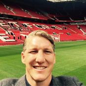 Schweinsteiger snaps Old Trafford selfie