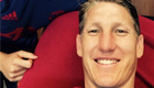 Photo: Bastian Schweinsteiger reflects on first Man Utd goal