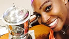 Photo: Serena Williams snaps selfie with French Open trophies